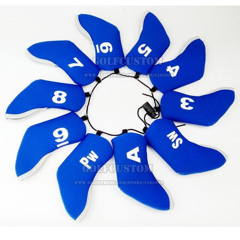 Новинка 2016 пользовательские Гольф железный шлем красочные неопрена Гольф Headcovers Бесплатная печать логотипа низкой MOQ оптовая продажа более ...