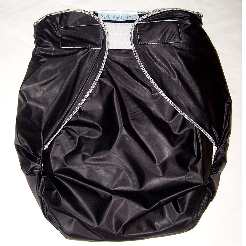 Free Shipping FUUBUU2016-BLACK-M/L Free Adult Diapers Pvc Adult Diaper Cloth Diaper Adult Incontinence Pants For Adults ABDL