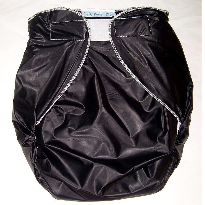 Free Shipping FUUBUU2016-BLACK-M/L Free Adult Diapers Pvc Adult Diaper Cloth Diaper Adult Incontinence Pants For Adults ABDL
