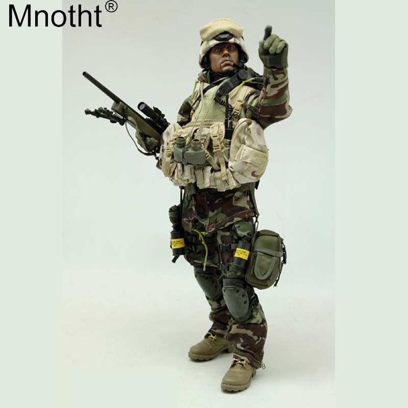 Mnotht VH1010 1/6 US Special Forces Jungle Sniper Suit Set Costume Male Clothes Toy for 12