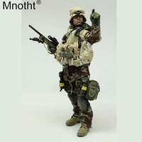 Mnotht VH1010 1/6 US Special Forces Jungle Sniper Suit Set Costume Male Clothes Toy for 12 Soldier Action Figure Collection m3n