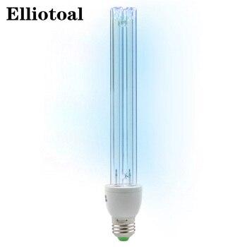 Уф озона кварцевые лампы 25 W ультрафиолетовые бактерицидные огни УФ лампа для дома E27 ultraviolets terilization лампа медицинские sterilizat