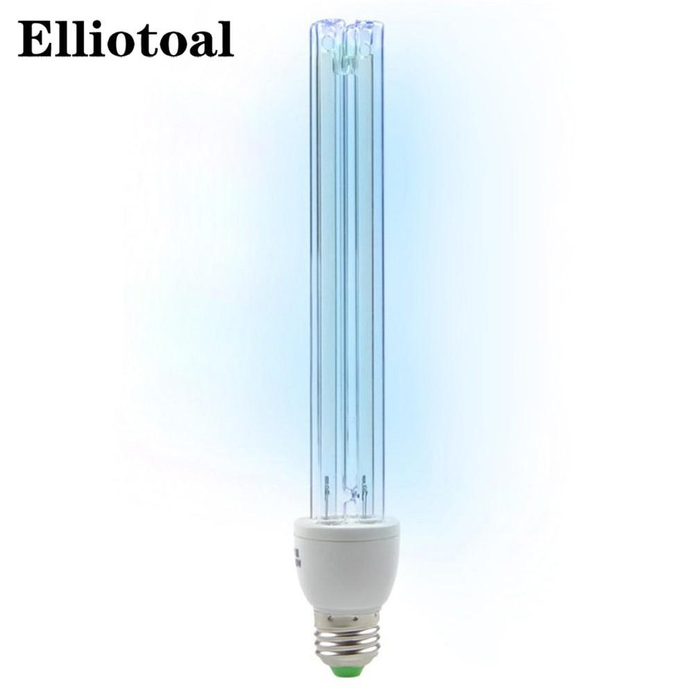 UV Ozone Quartz Lamps 25W Ultraviolet Germicidal Lights Uv Lamp For Home E27 Ultraviolets Terilization Lamp Medical Sterilizat