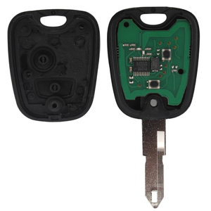 Image 2 - jingyuqin 2 Buttons ASK NE73 Blade Remote Key Shell Fob Controller Fit For PEUGEOT 206 433MHZ With PCF7961 Transponder Chip