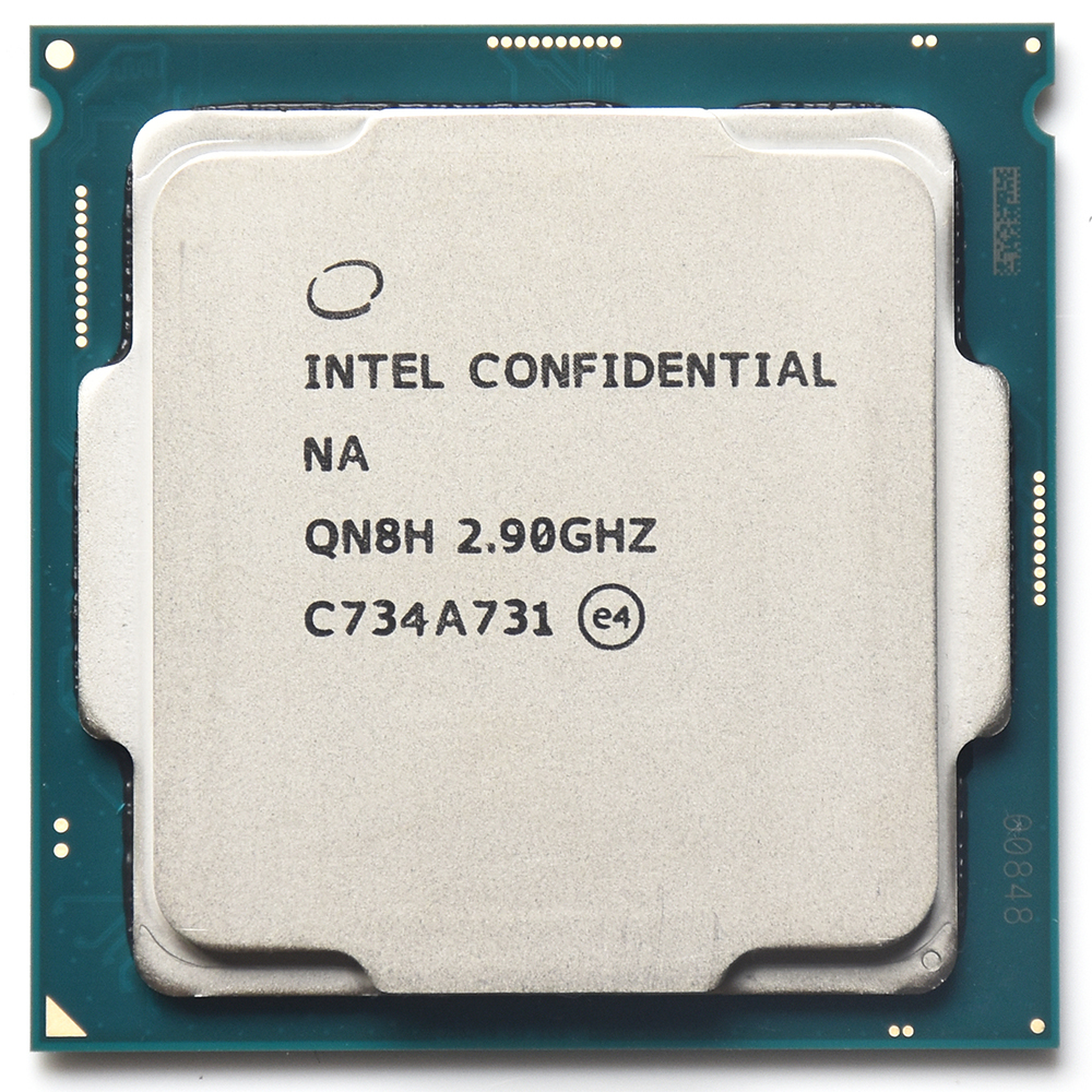 QN8H ES CPU Engineering version of intel core i7 processor 8700 I7 8700K Six core 2.9 HD630 work on LAG 1151 B360 Z370 image