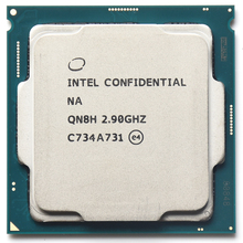 معالج QN8H ES للهندسة المركزية نسخة إنتل كور i7 8700 I7 8700K ستة النواة 2.9 HD630 يعمل على تأخر 1151 B360 Z370