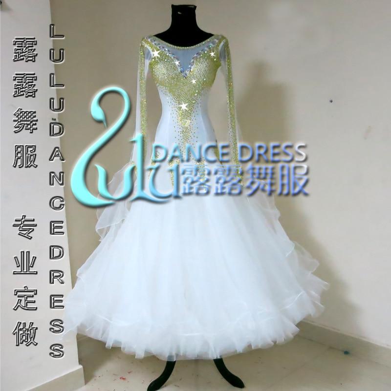 Competition Ballroom dance dress,tango salsa samba dance dress,latin dance wear,Rumba Jive Chacha