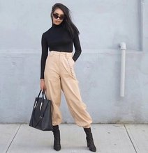 cargo pants women      female winter womens fall outdoor capris ladies clothing festivals classics comfort cool pant holiday