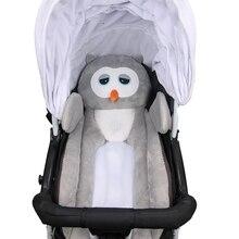 Коврик для детской коляски, тело животного, дышащее детское безопасное сиденье, Стильный коврик для сна, переносная подушка, многофункциональная подушка