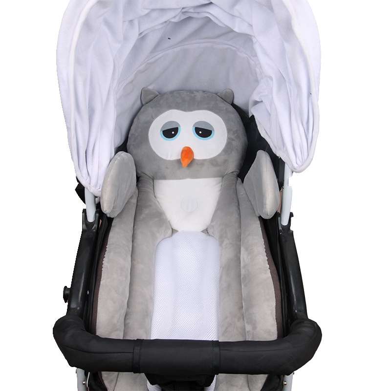Baby Stroller Pad Body Animal Breathable Baby Safety Seat Styling Sleeping Pad Cart Portable Cushion Multifunction Pillow