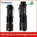 Мини-Кри xml t6 q5 фонарик мощный Масштабируемые Тактический Фонарик водонепроницаемый светодиодный фонарик lanterna flash макс 3000 люмен ZK93