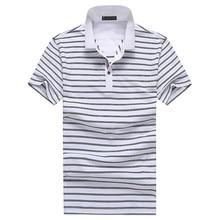 Free shipping 2017 summer Men's Polo shirts men stripe short sleeves Polo Shirts Men's 100% cotton short sleeves shirt