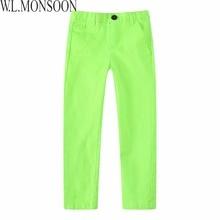 W. L. MONSOON Enfants Vêtements Garçons Mode Pantalon Fille Leggings Enfants Coton 2017 Marque Printemps Enfant Pantalon Garçons pantalon 8 Couleurs