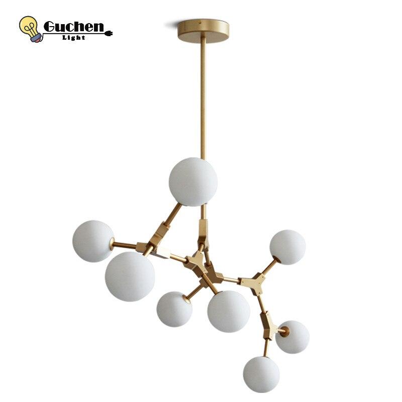 LED Globe Branching Bubble Chandelier 110V220V Nordic Modern Chandelier Lighting Pendent Lamp Glass Ball Lamp Ceiling lustre G4