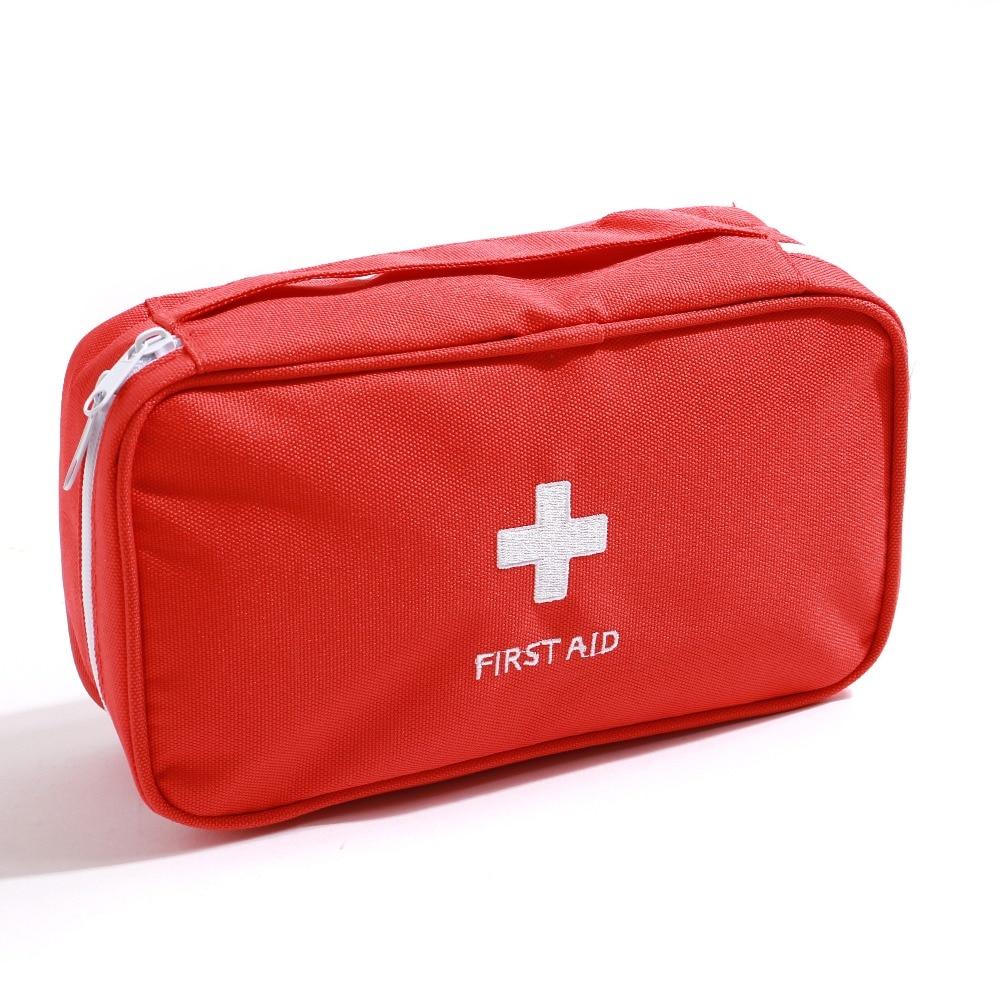 Leere Outdoor Verbandskasten Tasche Red Camping Notuberlebens Bag