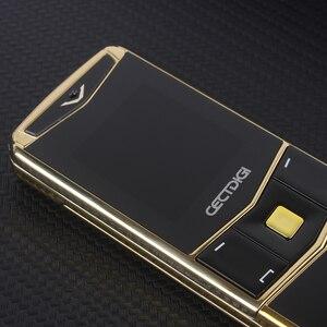 Image 4 - יוקרה טלפון מתכת גוף Cectdigi V05 הקטן ביותר מיני כפולה ה sim Filp שקופיות נייד טלפון Bluetooth קסם קול עברית רוסית טלפון