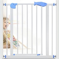 Children S Safety Gate Stairs Fence Dog Fence Balcony Isolated Door