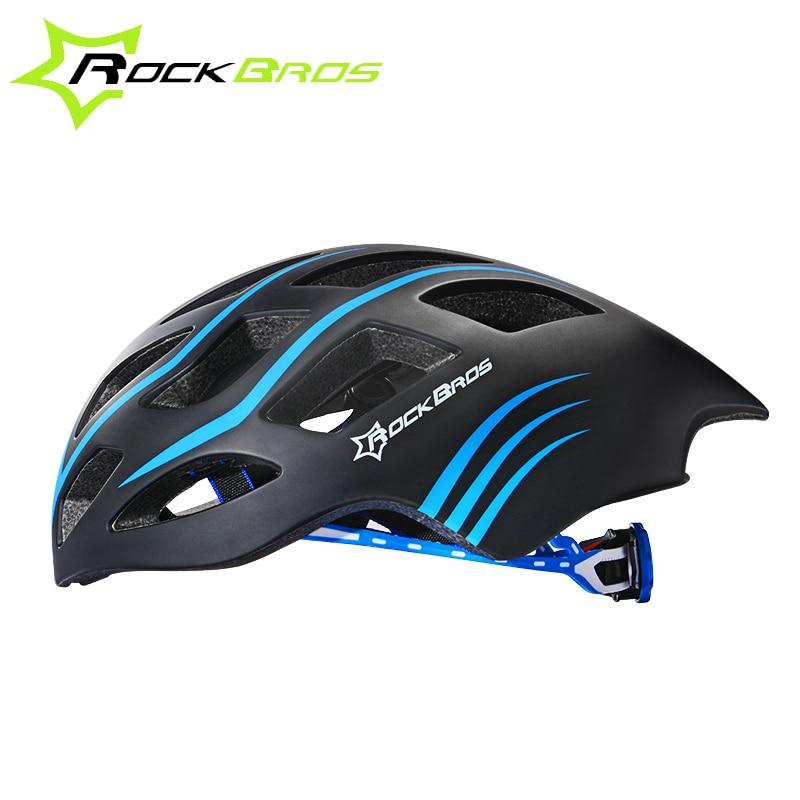 ФОТО ROCKBROS Ultralight Bicycle Helmet Cycling Helmet Integrally-molded Road Bike Equipment Helmet Capacete Casco Ciclismo 57-62 CM