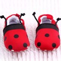 Nice Unisex Baby Infant Soft Cotton Animal Bees Ladybird Design Crib Shoes