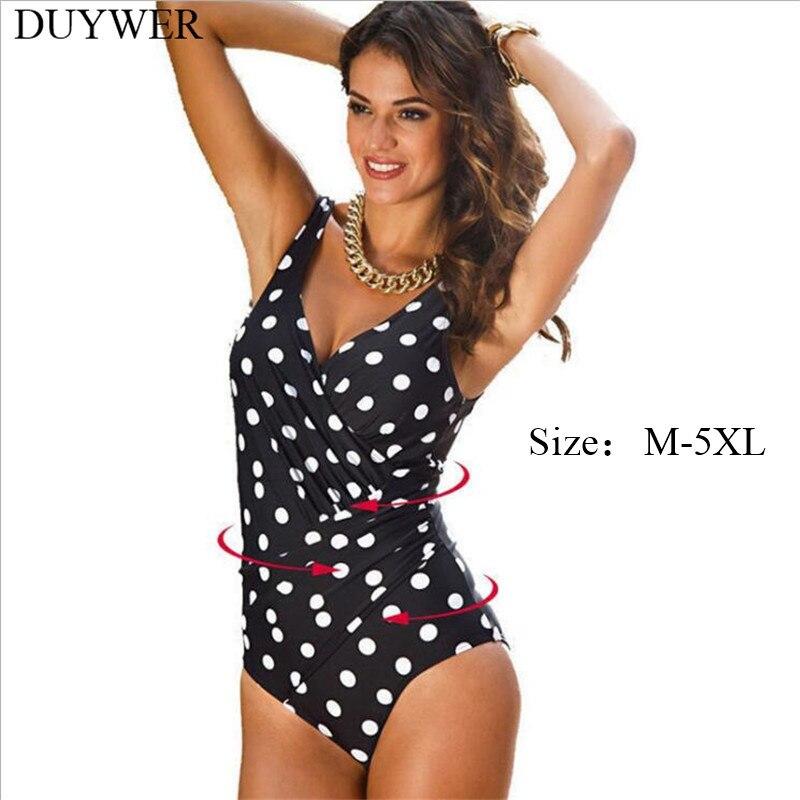 1604be888ad7 Plus Size One Piece Swimsuit 5XL 4XL XXXL XXL XL Swimsuit Black Bodysuit  Jumpsuit Curvy Women Swimwear Black Bathing Suit Ladies-in Body Suits from  Sports ...