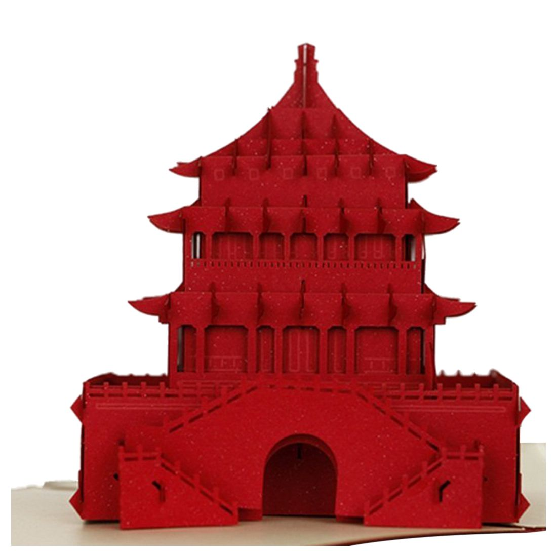 HOT 3D Pop Up Cards Creative Paper craft Greeting Cards for Birthday ...