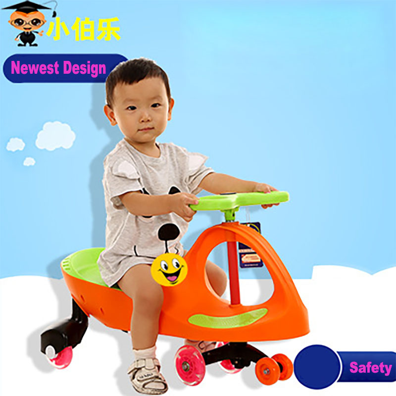 где купить 2018 Children Gifts New Twist Car Children Present Children Swing Car Flash Wheel Style Trotter Machines on The Control Panel по лучшей цене