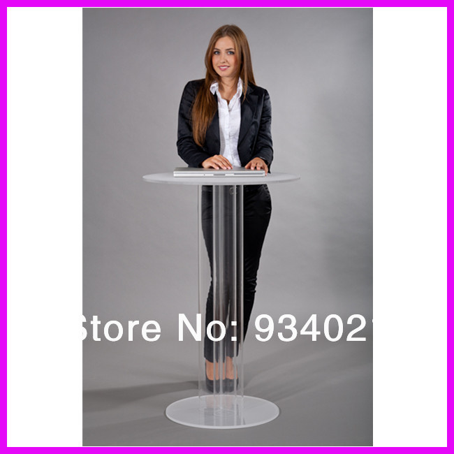 Detachable High Quality Acrylic Podium Pulpit Lectern Plexiglass
