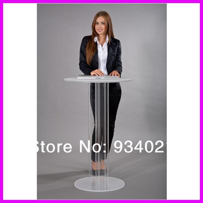 Detachable High Quality Acrylic Podium Pulpit LecternDetachable High Quality Acrylic Podium Pulpit Lectern