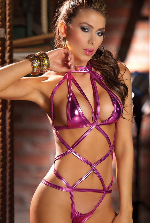 Sizzle Intimates Leather Lingerie