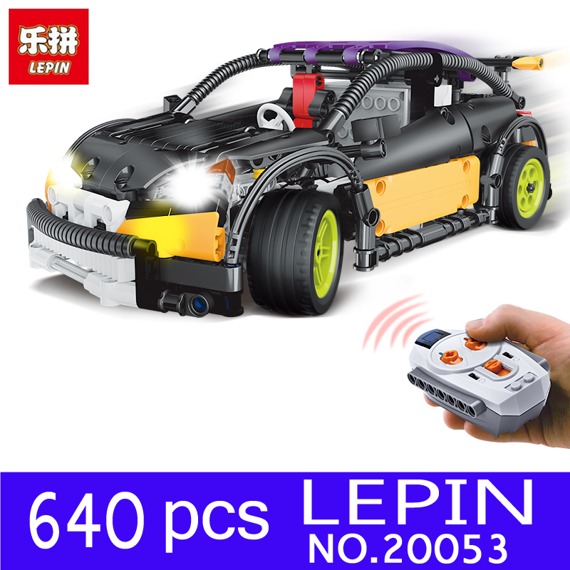 LEPIN 20053 20053B 640pcs Technic Series Genuine The Hatchback Type R Set MOC-6604 Building Blocks Bricks Educational Toys Gifts r b parker s the devil wins