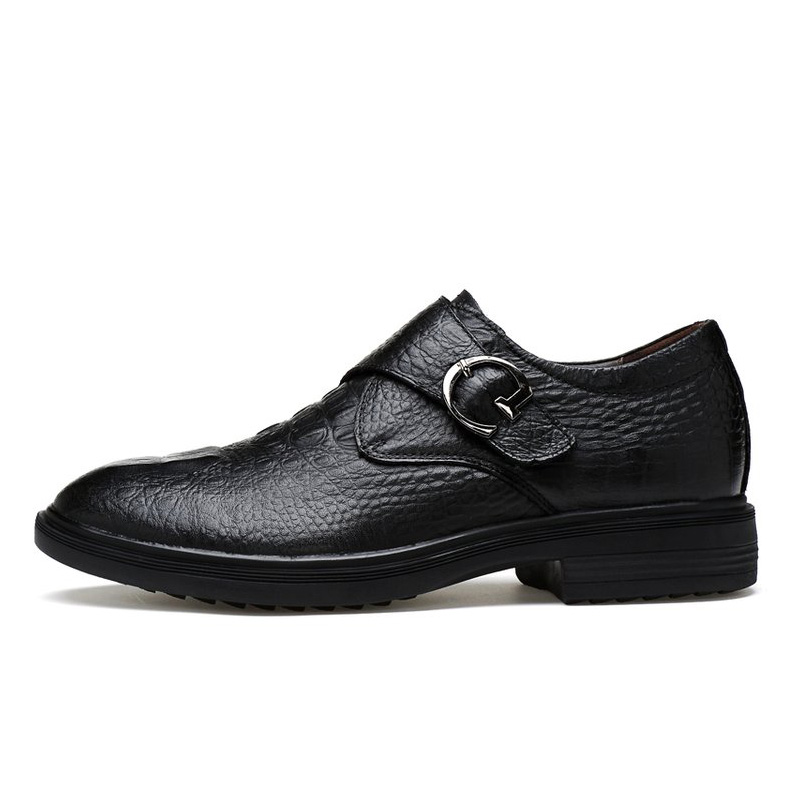 Natural Cow leather Men Shoes Plus Size Handmade Business Dress Men Oxford Shoes Wedding And Party Men Flats Shoes Dropshipping in Formal Shoes from Shoes