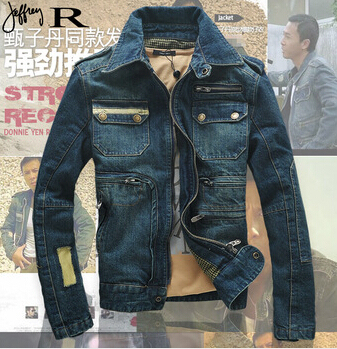 De los nuevos hombres denim ropa para hombre jeans denim