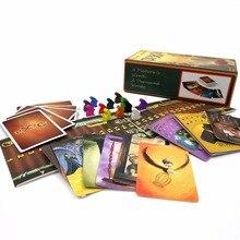 Versión actualizada Dixit 4 + 5 + 6 + 7 con madera conejito 336 tarjetas de colores caja original en la junta electoral tarjetas de juego de mesa de juego