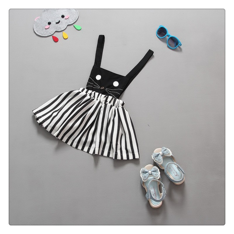2016 Summer Sleeveless Girls Clothes Dress (2)