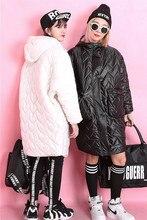 Мода 2015 волна сплошной цвет all-матч маскообразное куртки ватные хлопка-ватник средний — Большой размер верхней одежды