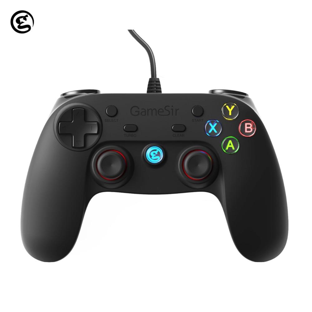 GameSir G3W Gamepads Joystick Gamepad USB Com Fio Controlador de Jogos Para Smartphone Tablet PC Windows PS3