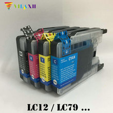 LC1240 Ink Cartridge for Brother LC 1240 DCP-J525W J725DW MFC-J430W J625DW J6510DW J6710DW J6910DW J825DW J5910DW картридж brother lc 1220y yellow для dcp j525w mfc j430w mfc j825dw 300стр