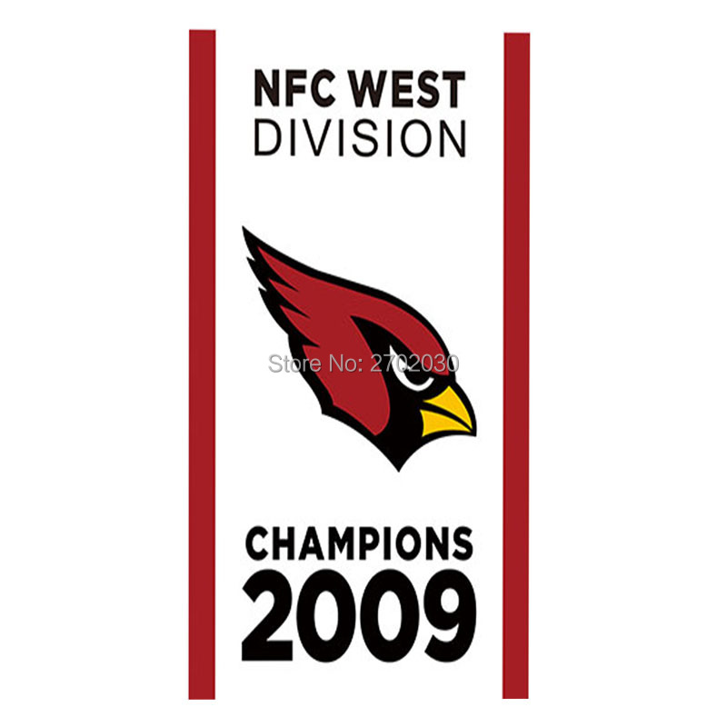 Arizona Cardinals Banner Flag West Division Super Bowl Champions 3ft X 5ft World Series Football Team Arizona Cardinals Flag