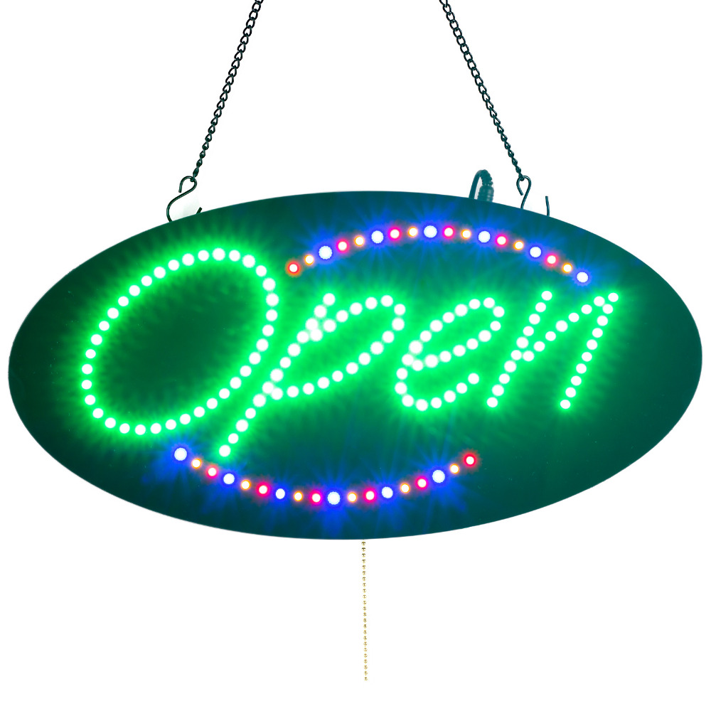 Oval LED Neon Portable 19