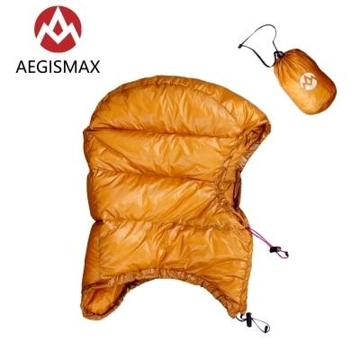 AEGISMAX Goose Dow Hood Hat for Envelope Sleeping Bag 5