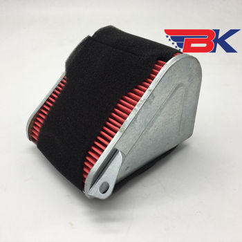 Air Filter Air Clearner For GY6-125 125cc Scooter Motorcycle 152QMI 157QMJ image