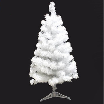 0.9m / 90cm Encrypted White Christmas Tree New Year's Gifts Christmas home office decorations