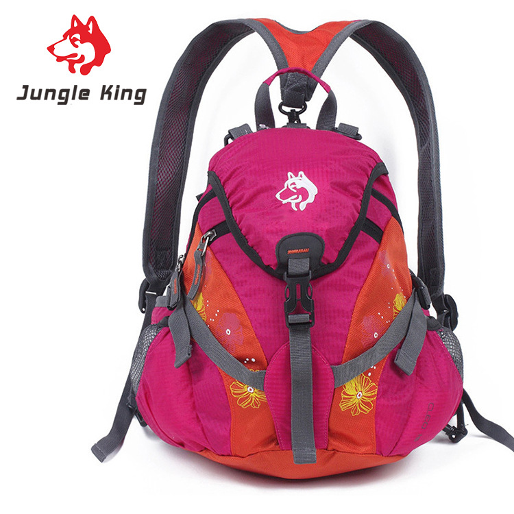 Style; Hospitable Jungle King Outdoor Mountaineering Bags Cycling Pocket Running Diagonal Travel Backpacks Children Bags Adult Travel Packages15l Fashionable In