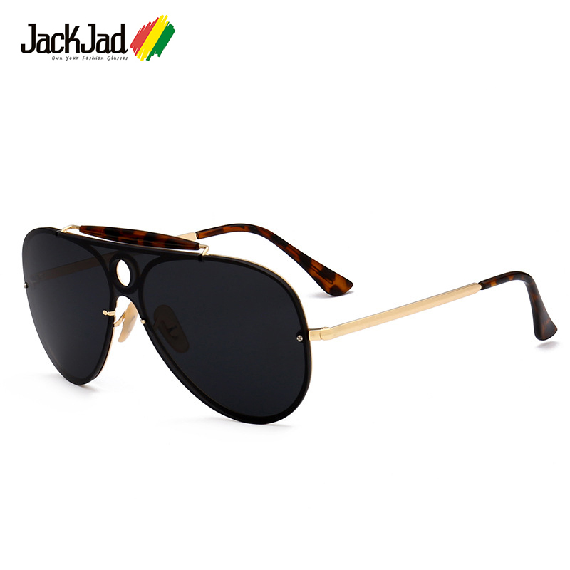 JackJad 2018 Fashion Classic 3581 Aviation Pilot Style Sunglasses Women Men  Brand Design UV400 Sun Glasses Oculos De Sol Sunnies-in Sunglasses from  Men s ... 80ebe2d5566