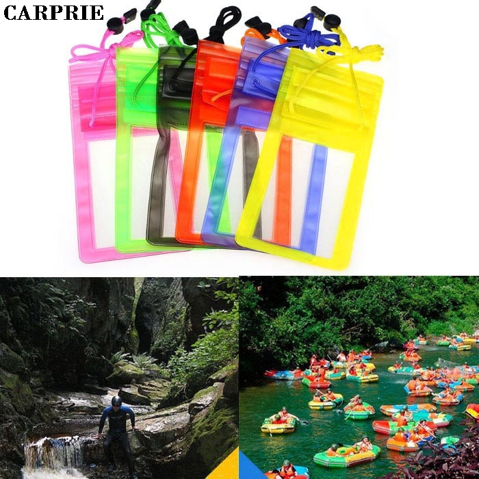 CARPRIE 1PC Travel Swimming Waterproof Bag Case Cover for 5.5 inch Cell Phone Smartphone Mp3 Headphone Headset Drop Shipping