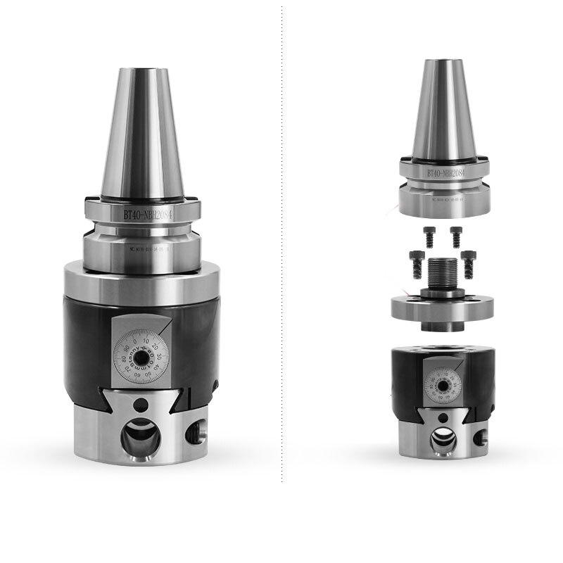 Precision NBH2084 8-280mm Boring Head System+BT40 M16 Holder +8pcs 20mm Bar range Tool Set