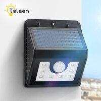 TSLEEN Waterproof Led Solar Light PIR Motion Sensor Solar Wall Lamp For Outdoor Garden Street Security