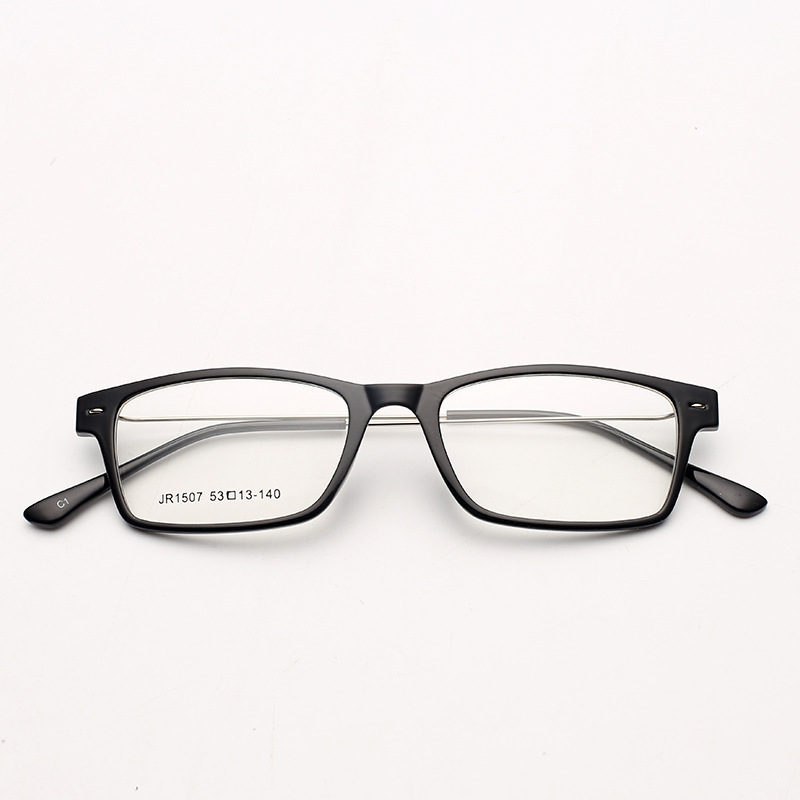 2016 new brand design men business memory steel eyeglasses frame myopia square optical glasses frame prescription