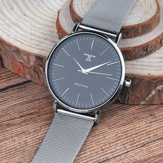 Для женщин Часы Топ Элитный бренд роза цвета: золотистый, серебристый кожа Сталь кварцевые наручные часы Relogio feminino Часы Montre Femme