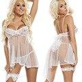 Сексуальное белье белое платье babydoll сексуальное нижнее белье женщин-кукла сексуальное женское белье эротическое белье сексуальные прозрачные кружева нижнее белье эротическое белье для женщин